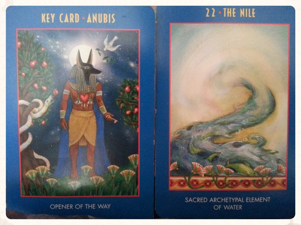 ANUBIS OPENS THE WAY TO THE NILE