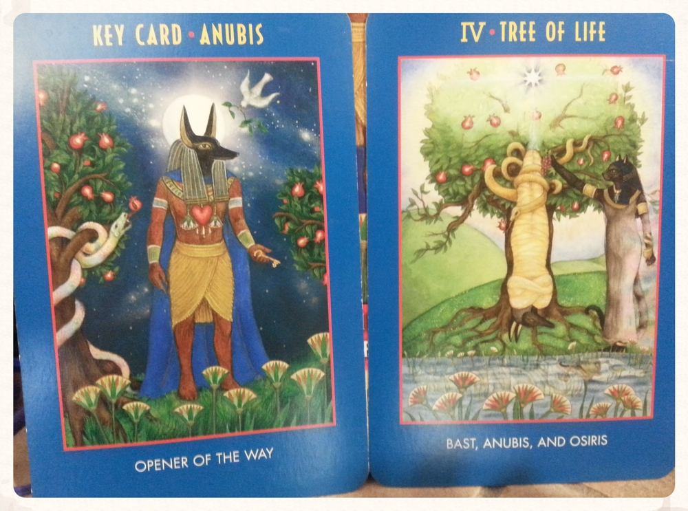 ANUBIS OPENS THE WAY          TO RENEWAL & REBIRTH