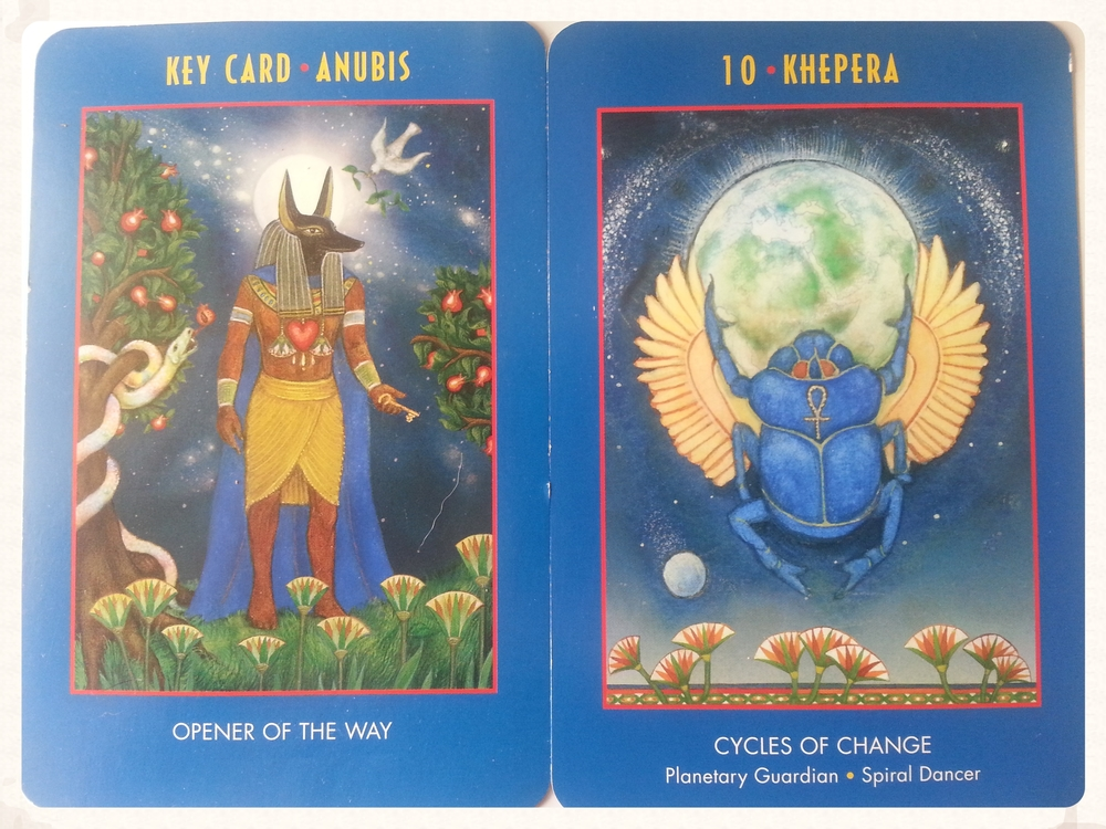 ANUBIS OPENS THE WAY TO                 CYCLES OF CHANGE