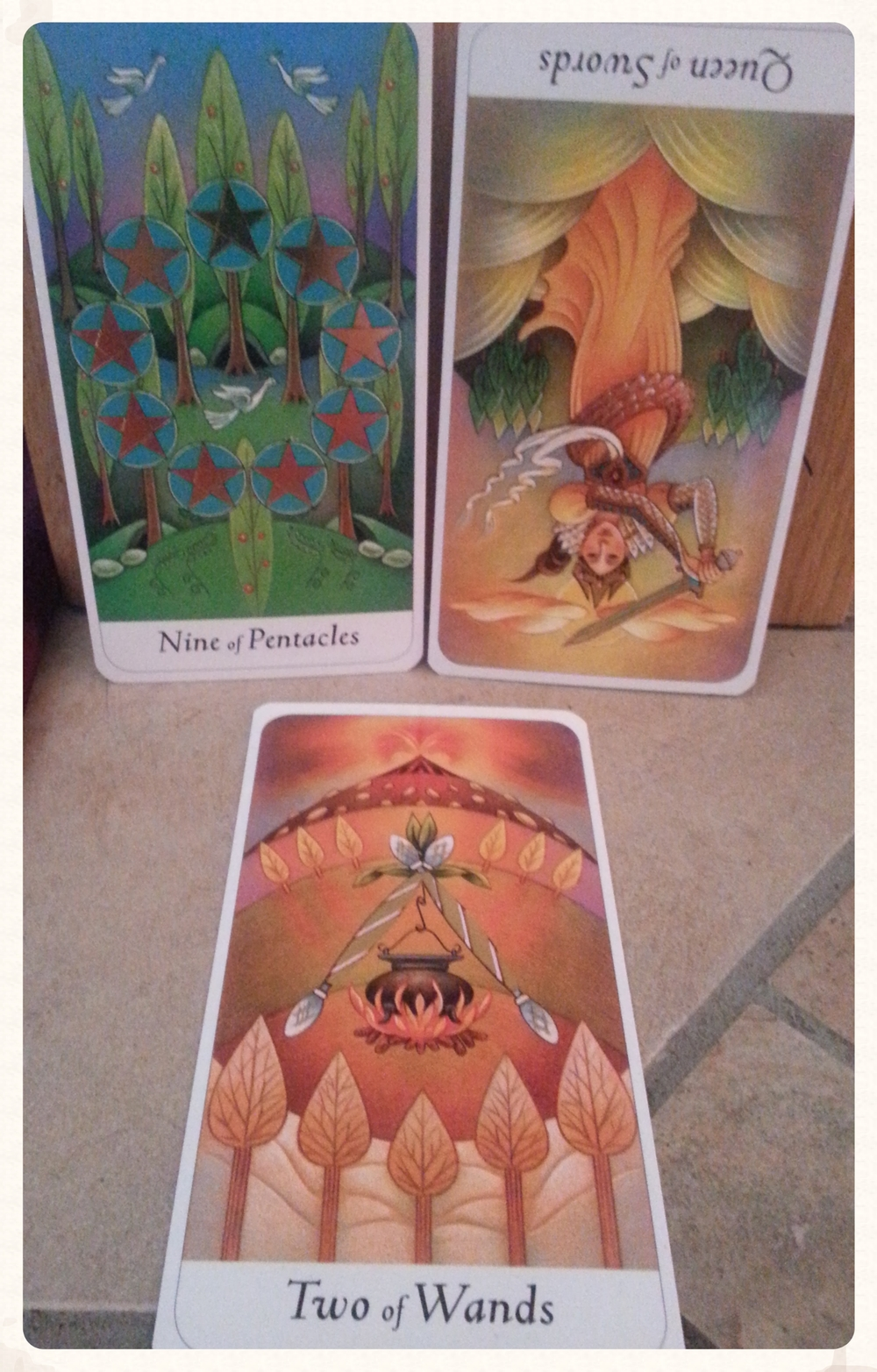CARDS FOR THIS FULL MOON WEEKEND SATURN'S DAY & SUN-DAY (ABOVE) & OUR THEME OF THE WEEK (BELOW)
