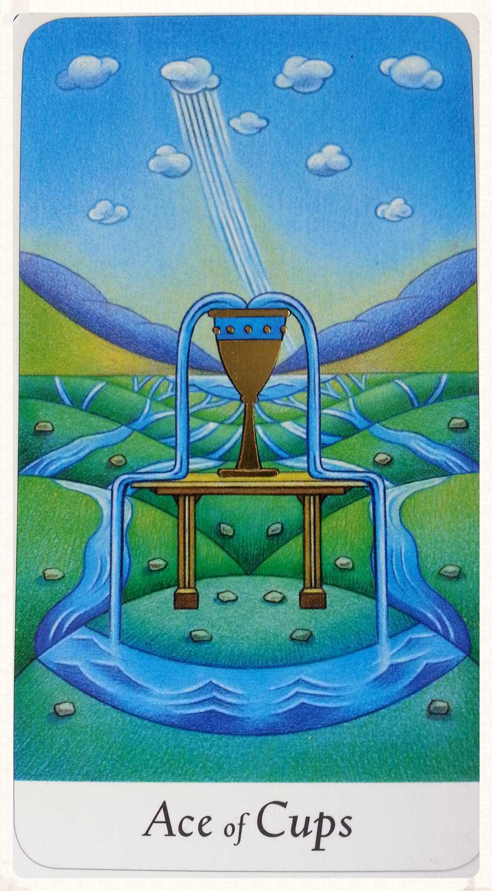 ODIN'S DAY SEPTEMBER 2 ND 2015:      ACES OF CUPS-MINOR ARCANA