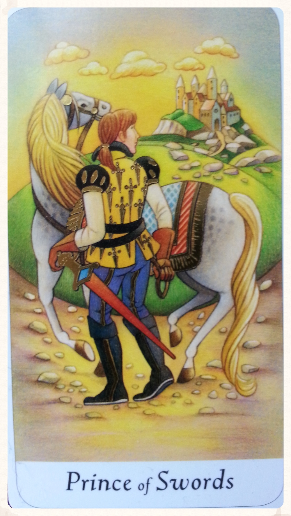 FREYA'S DAY SEPTEMBER 4TH 2015:        PRINCE OF SWORD-MINOR ARCANA