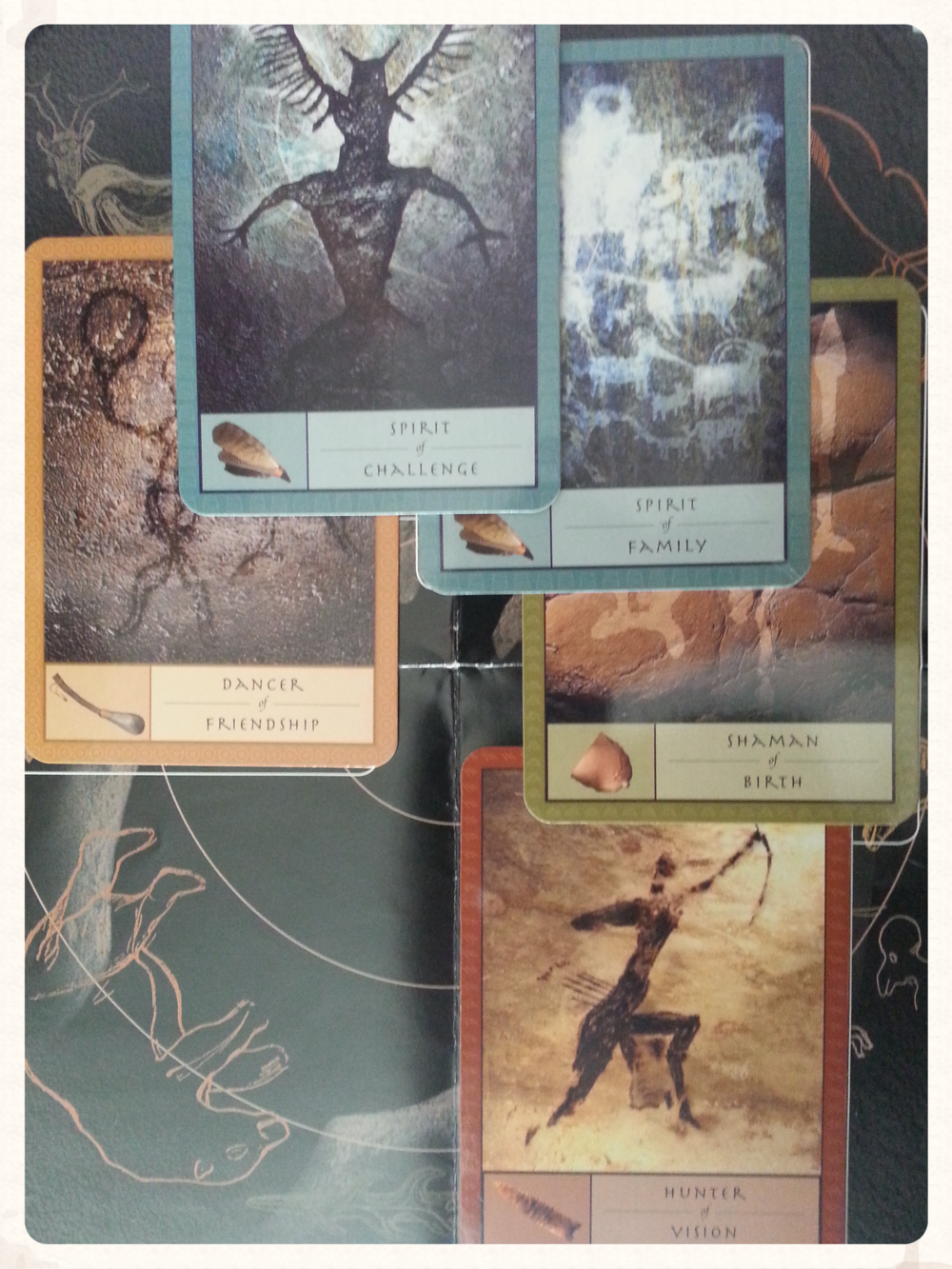 A SNEAK PEAK AT THIS WEEK'S CARDS: WE WILL TAKE A DEEPER LOOK AT THE RELATIONSHIP OF THESE EACH OF THESE CARDS AND THE MEANING OF IT'S CAVES AS THE WEEK PROGRESSES