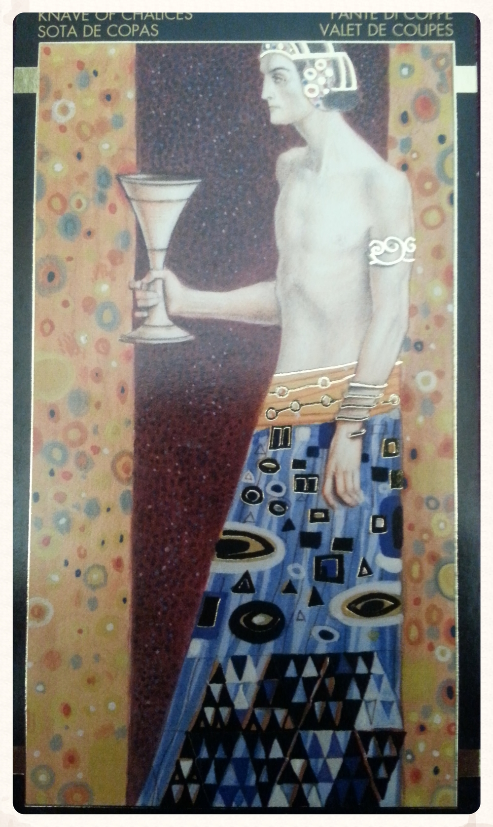 THEME OF THE WEEK: SEPTEMBER 26TH- OCTOBER 2ND 2015-MINOR ARCANA- KNAVES OF CHALICES