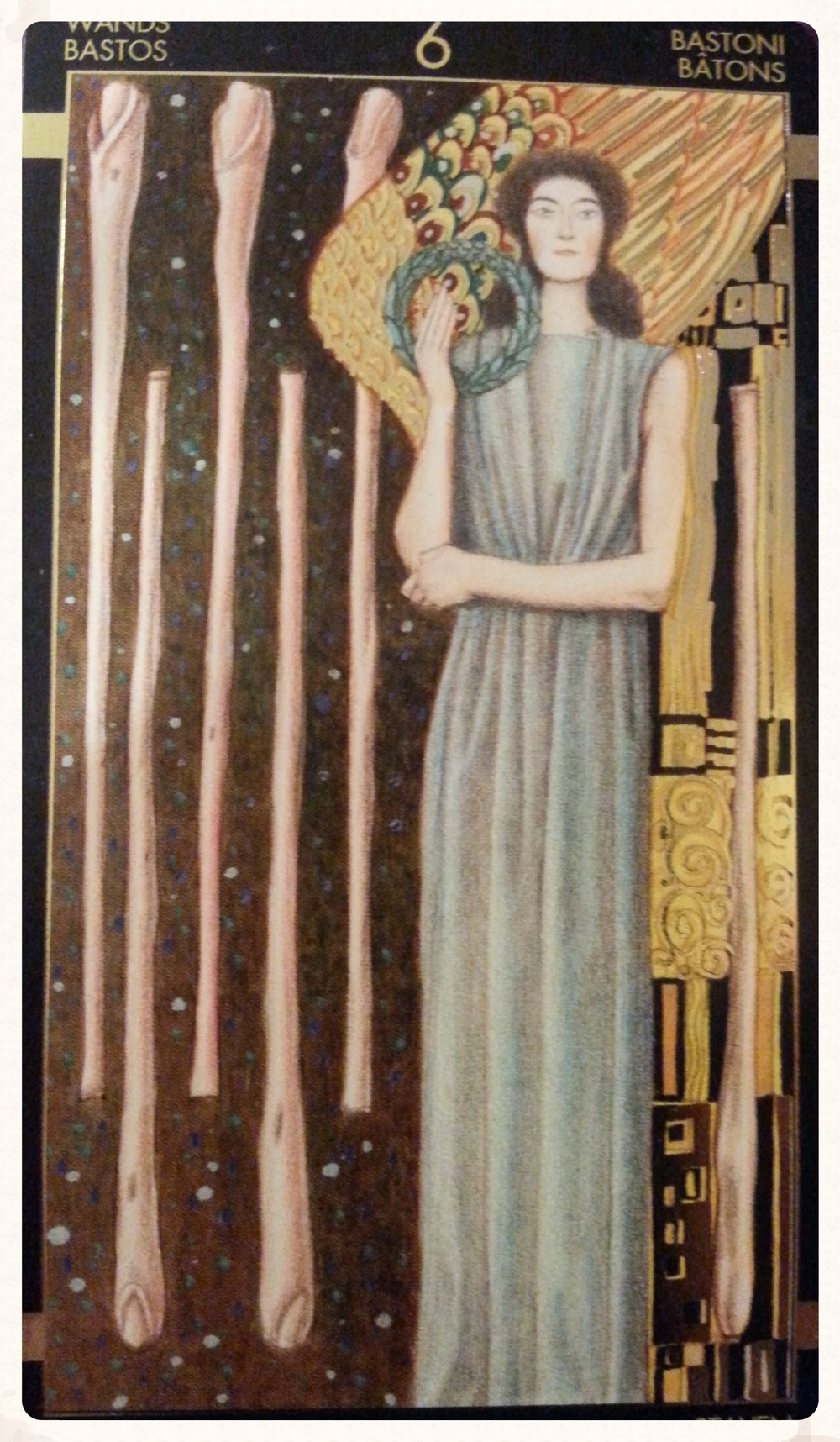 SATURN'S DAY SEPTEMBER 26TH 2015-MINOR ARCANA- SIX OF WANDS