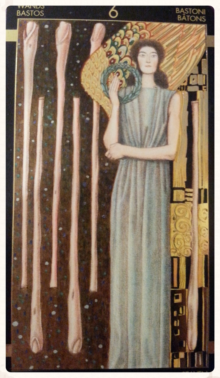 MOON-DAY SEPTEMBER 28TH 2015-MINOR ARCANA- SIX OF WANDS