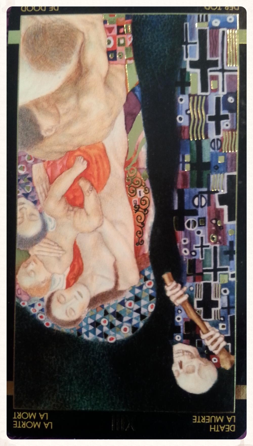 TYR'S-DAY SEPTEMBER 29TH 2015-MAJOR ARCANA- CARD 13- DEATH-REVERSED