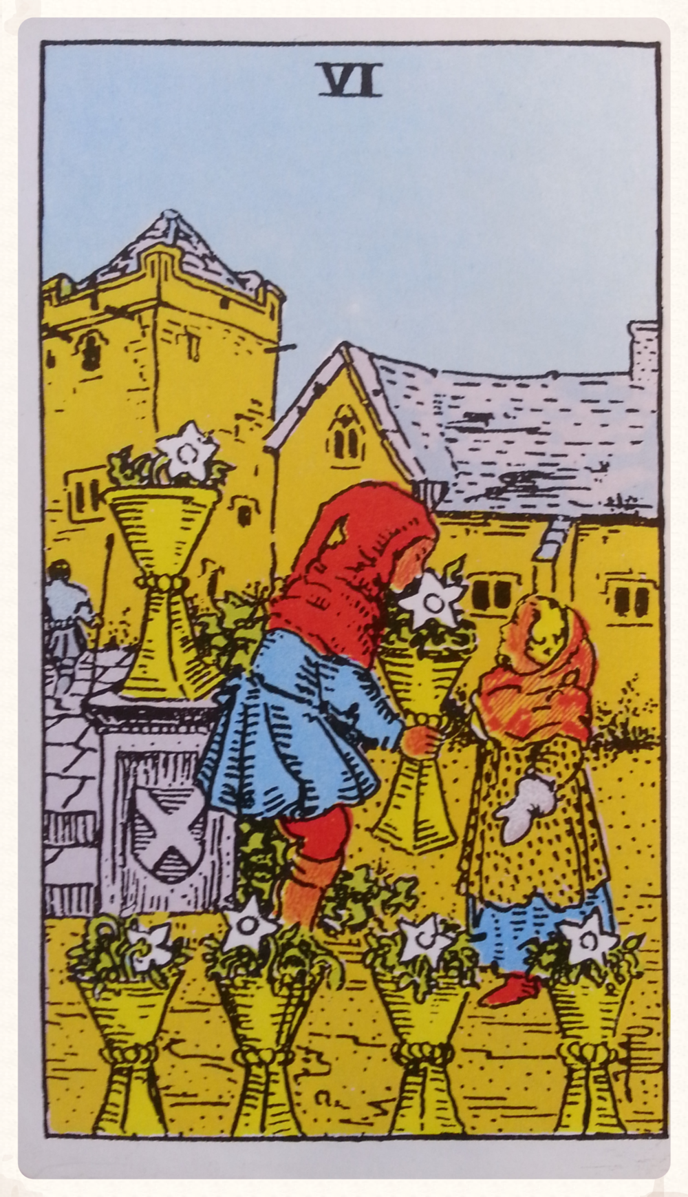 TYR'S-DAY OCTOBER 6TH 2015- MINOR ARCANA- SIX OF CUPS