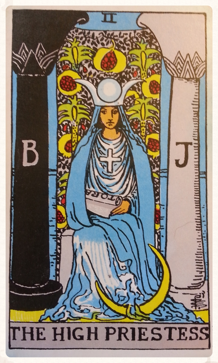 THEME OF THE WEEK: OCTOBER 3RD-9TH 2015-MAJOR ARCANA- THE HIGH PRIESTESS