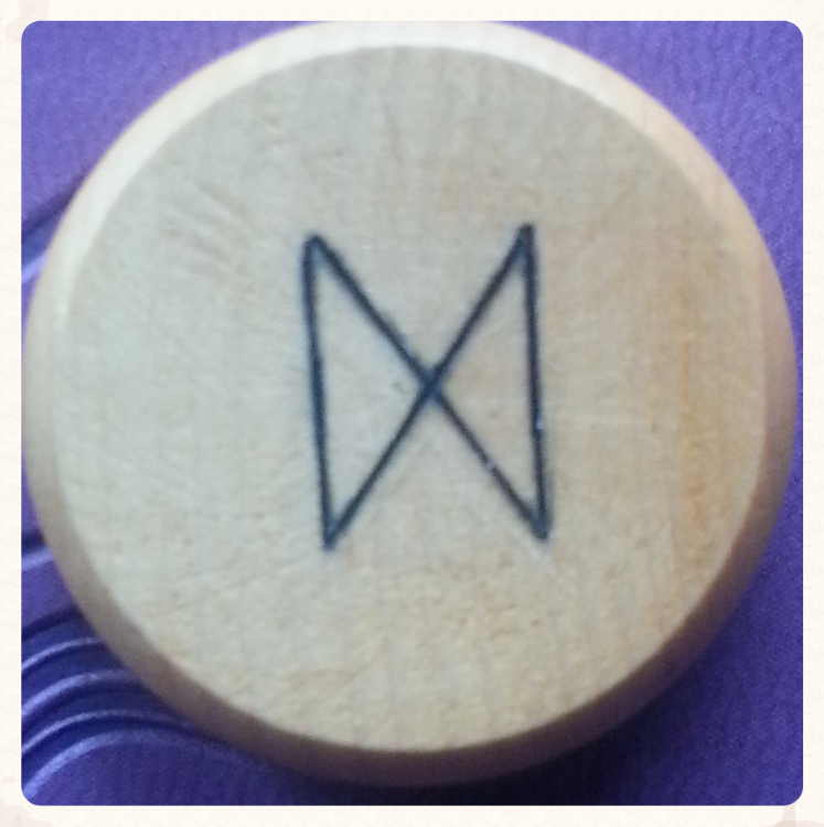 RUNE OF THE WEEK- OCTOBER 17TH-23RD 2015- DAGAZ OR DAEG- DAYLIGHT OR DAWN