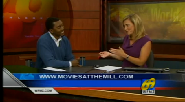 Gershon Hinkson discusses his Bullying Movie and Movies at the Mill on WFMZ 69 news