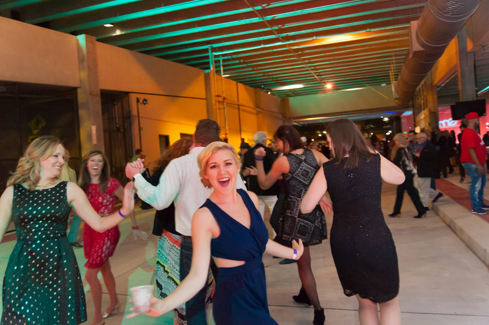 Party-goers enjoying the music at the MME 2015 after party. (Click photo for gallery.)
