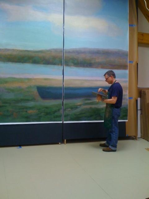 Beerman Mural Installation (3).JPG