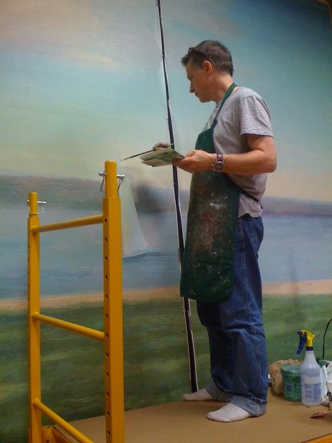 Beerman Mural Installation (10).JPG