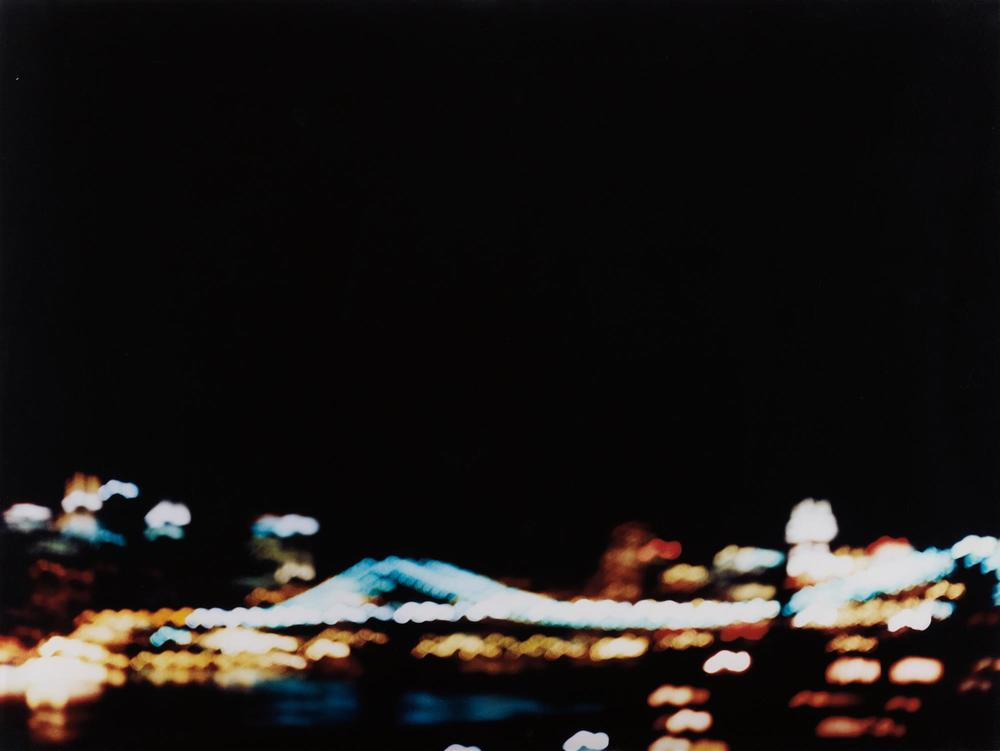 Jack Pierson Bridge 1998 Photographic print; type C print, signed, dated and numbered on verso. 30 x 40 in.