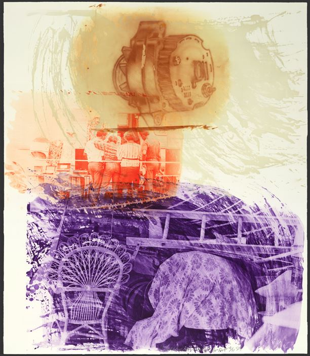 Robert Rauschenberg, Back-up
