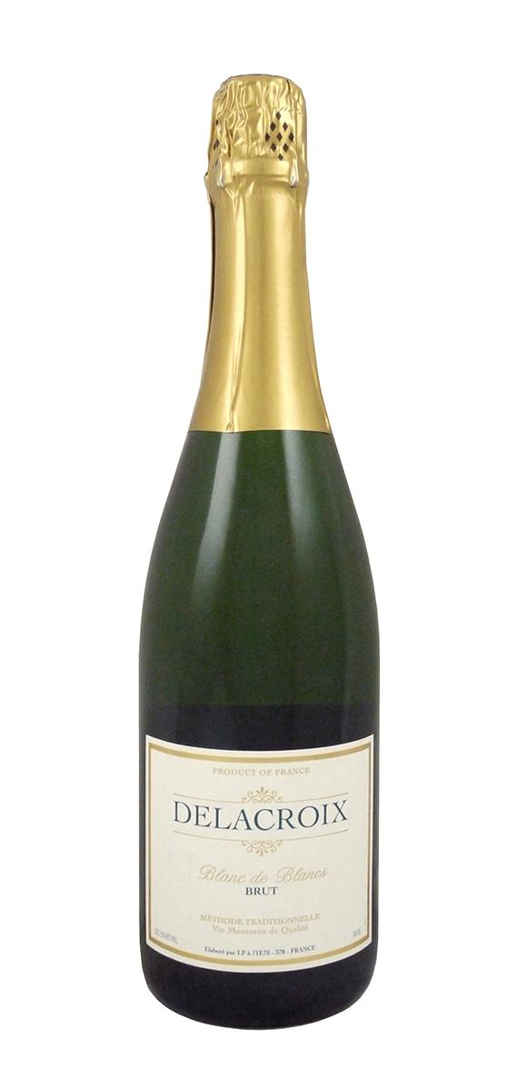 House Sparkling:Delacroix Brut NV - For the price, nothing beats the Delacroix Brut in the sparkling department. $8 a bottle? It's like a venti Starbucks Frappacino but this will actually