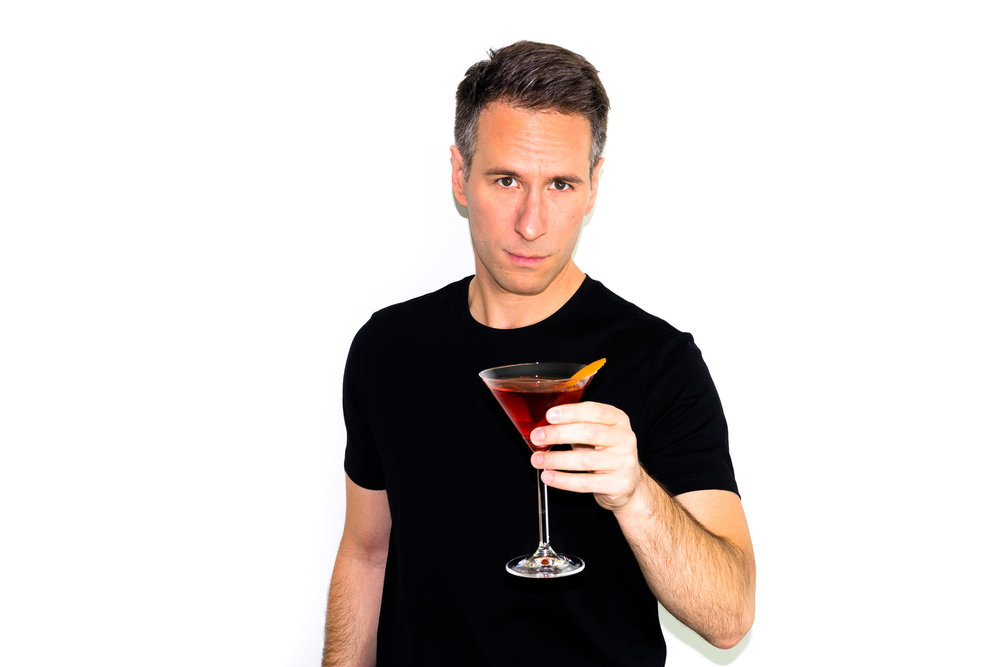 My favorite cocktail is the Negroni. - [Cheers.]