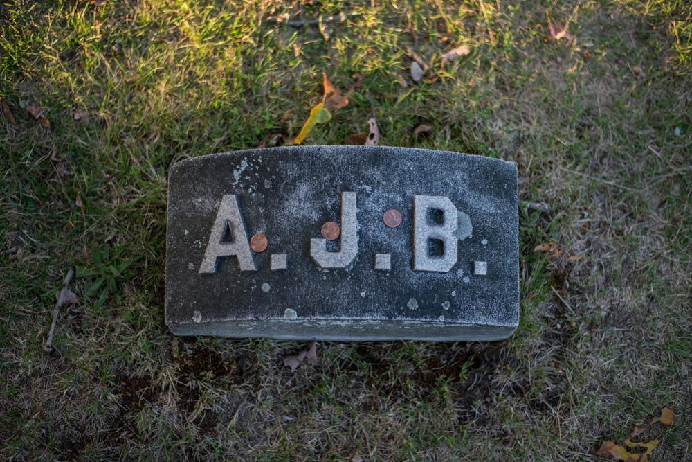 Andrew Borden Grave Marker