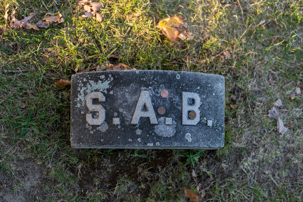Sarah Borden Grave Marker (First wife of Andrew Borden)