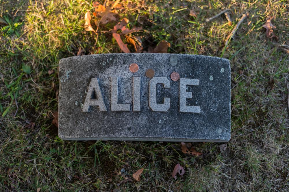 Alice   Borden Grave Marker
