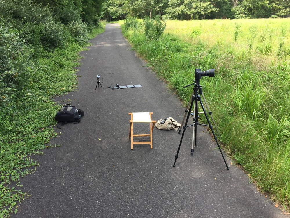 My time-lapse set up