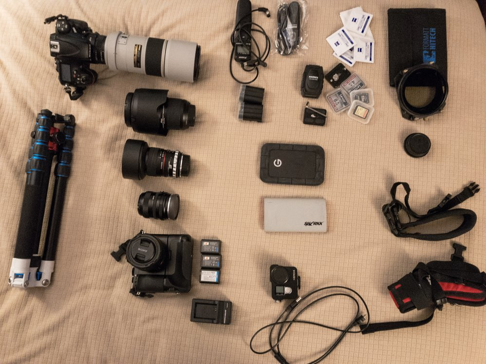 The Gear I Brought