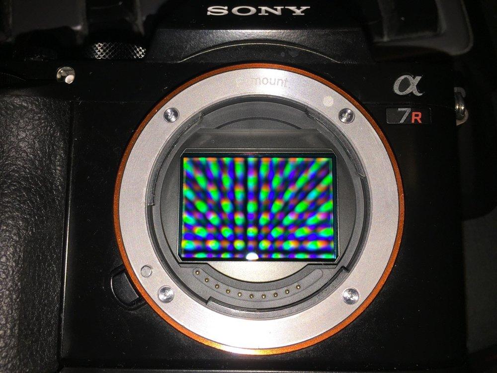 Sony A7R Sensor