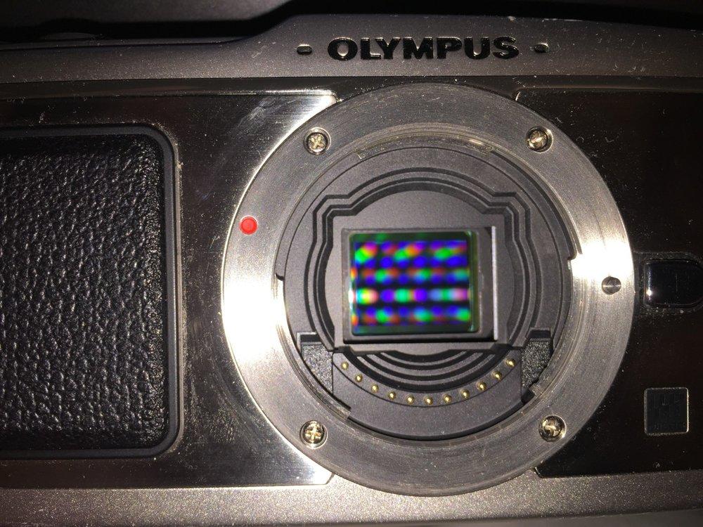 Olympus Pen E-P1 Sensor