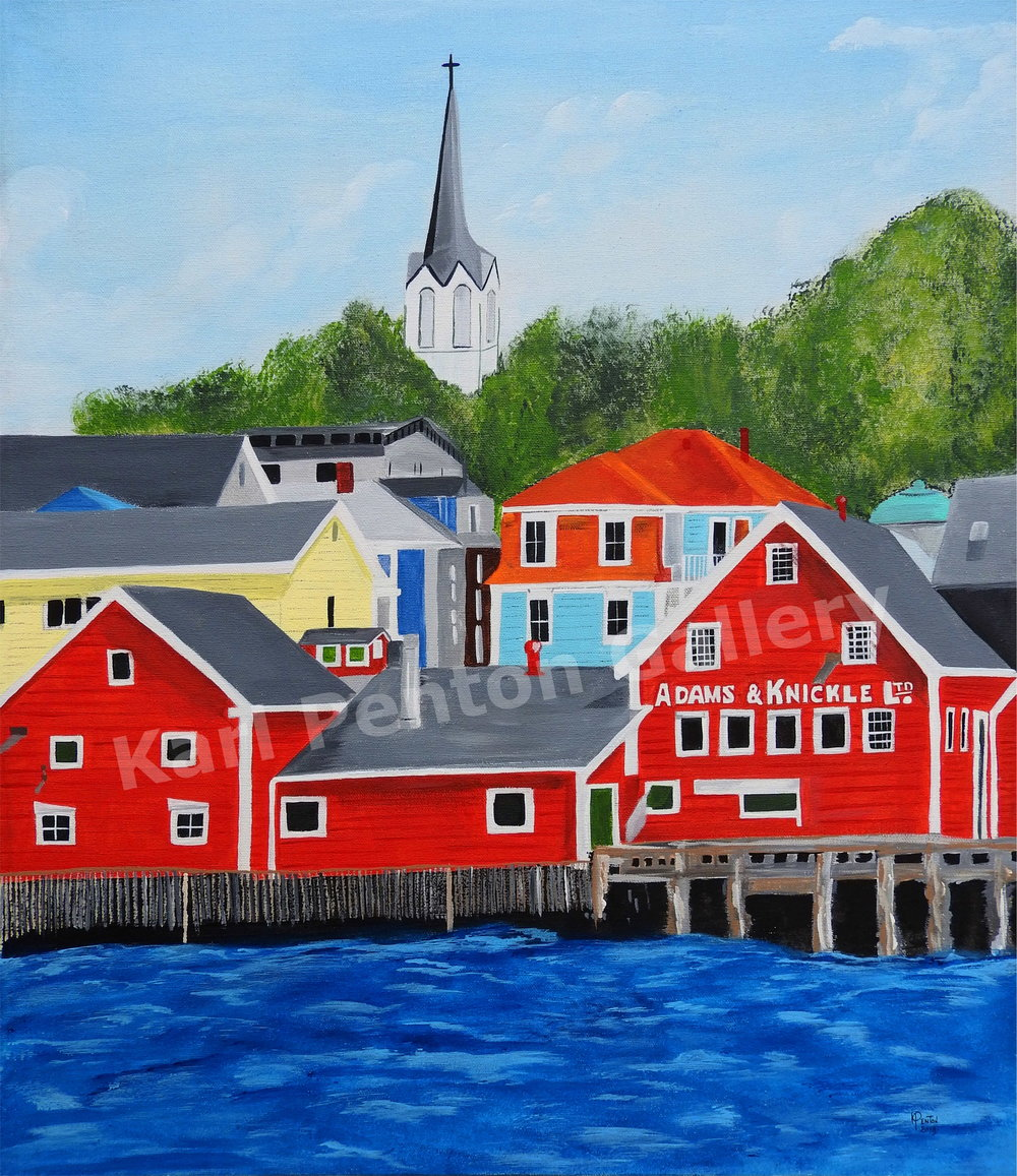 Lunenburg - (Original found in The Karl Penton Gallery)