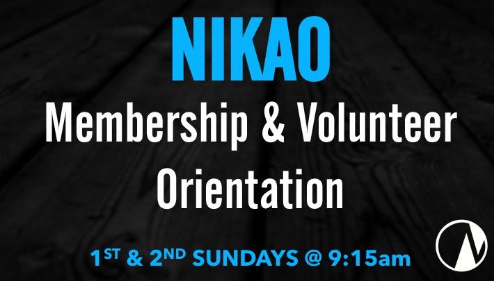 Nikao Orientation