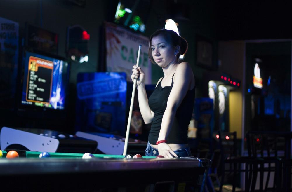 Alexa at the bar
