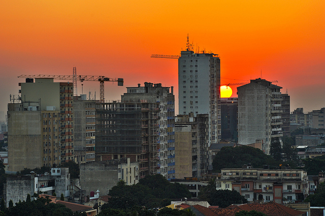 Maputo at Sunset (Image Credit: Brian Wilson)