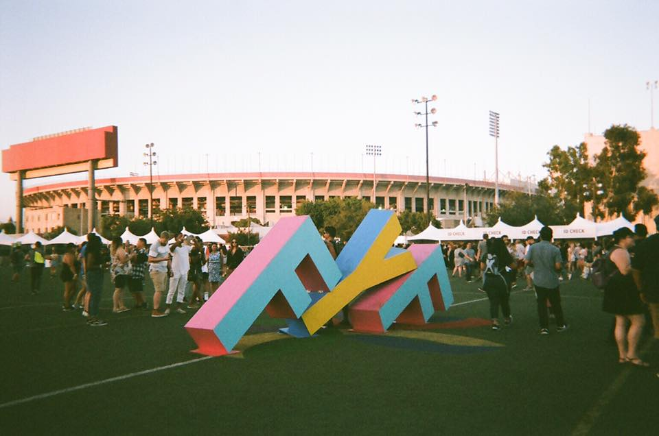 FYF Festival in Los Angeles, is one of my favorite summer festivals because it hosts all genres but mainly: indie, hip-hop and electronic.