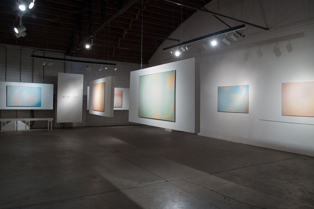Installation view of work from Volley, 5G Gallery, Albuquerque 2015
