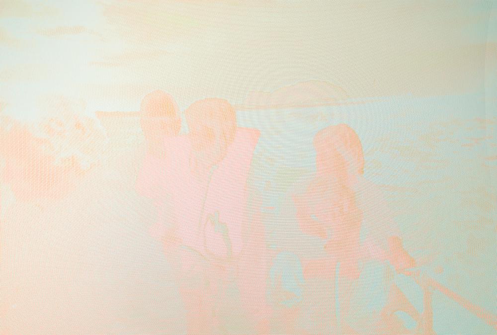 "Long Island Sound, 40"" x 60"", Archival Inkjet print, 2015"