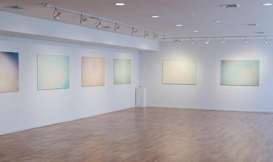 Installation view of work from Volley, Colorado Photographic Arts Center, Denver, 2017