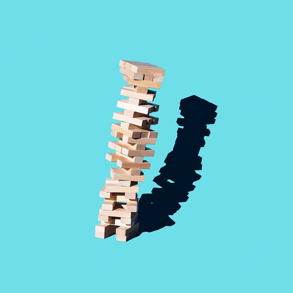 "Stability, 20"" x 20"", Archival Inkjet Print, 2017"