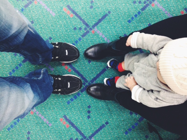 A must! Feet shot with the famous PDX carpet