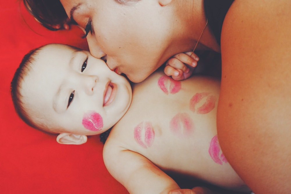 Re-apply your lipstick after each kiss.