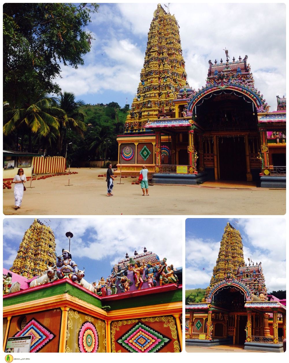 Matale Hindu temple Banana Leaf tours
