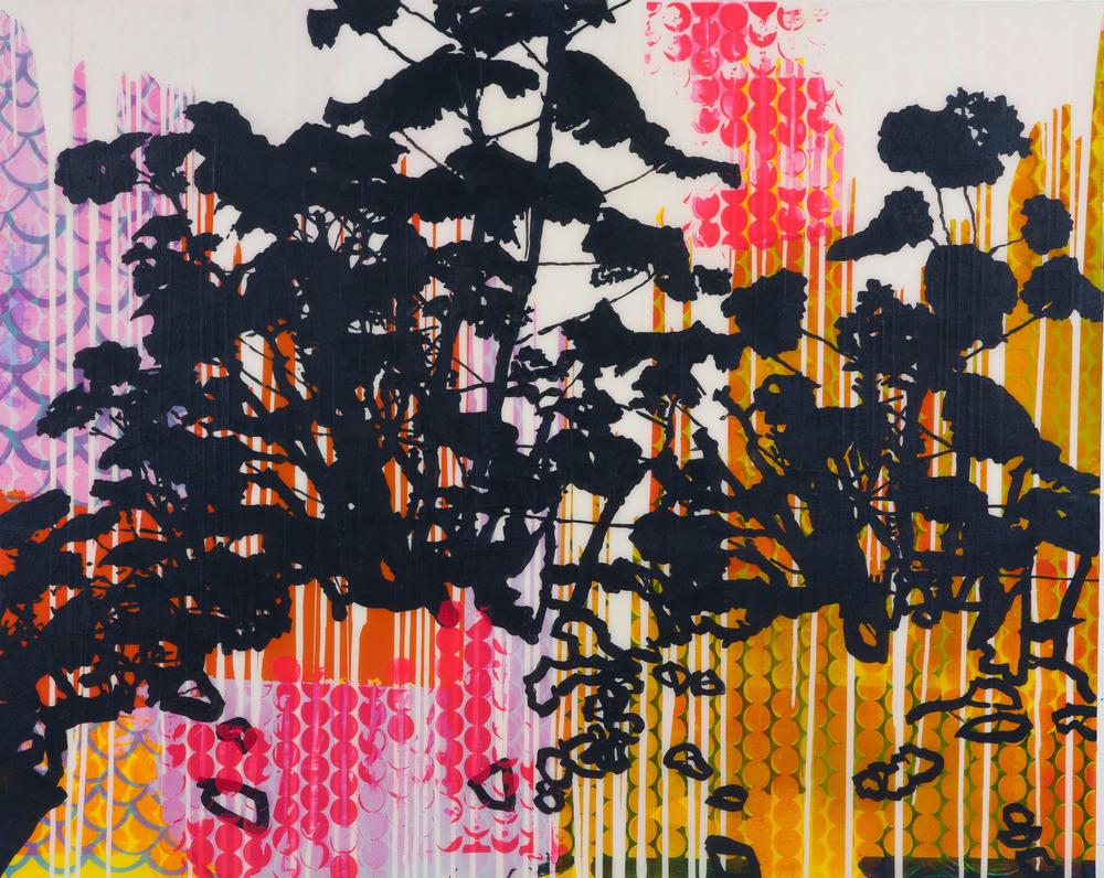 """EXTRAVANGANT BLOOM, 2011, 48"""" X 60"""""""