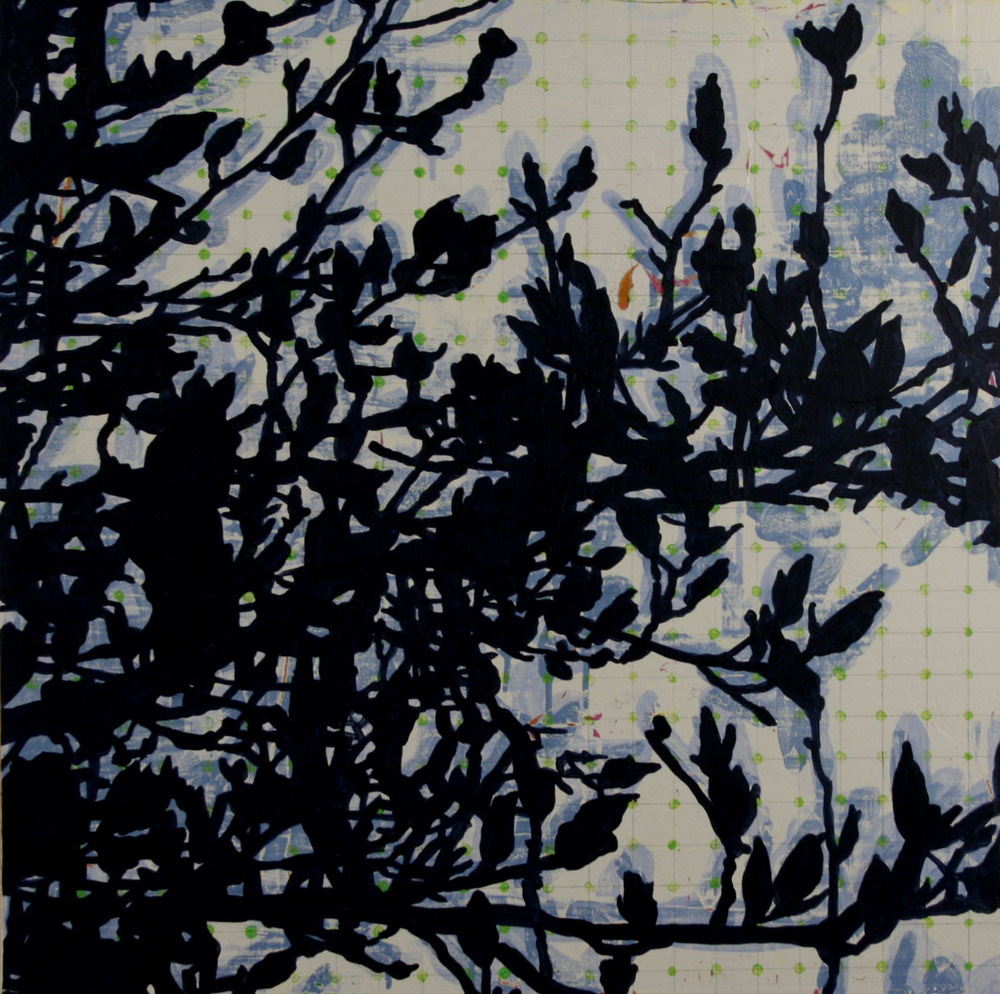 "June Tree, 2014, 24"" x 24"""