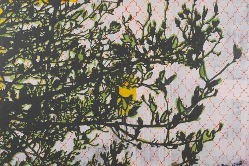 """Springtide, 2014, 40"""" x 60"""""""
