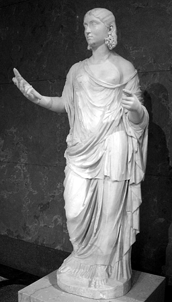 Ceres, the Roman goddess of agriculture: image by the  Borghese Collection