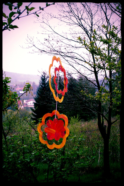 Children's Beltane decorations