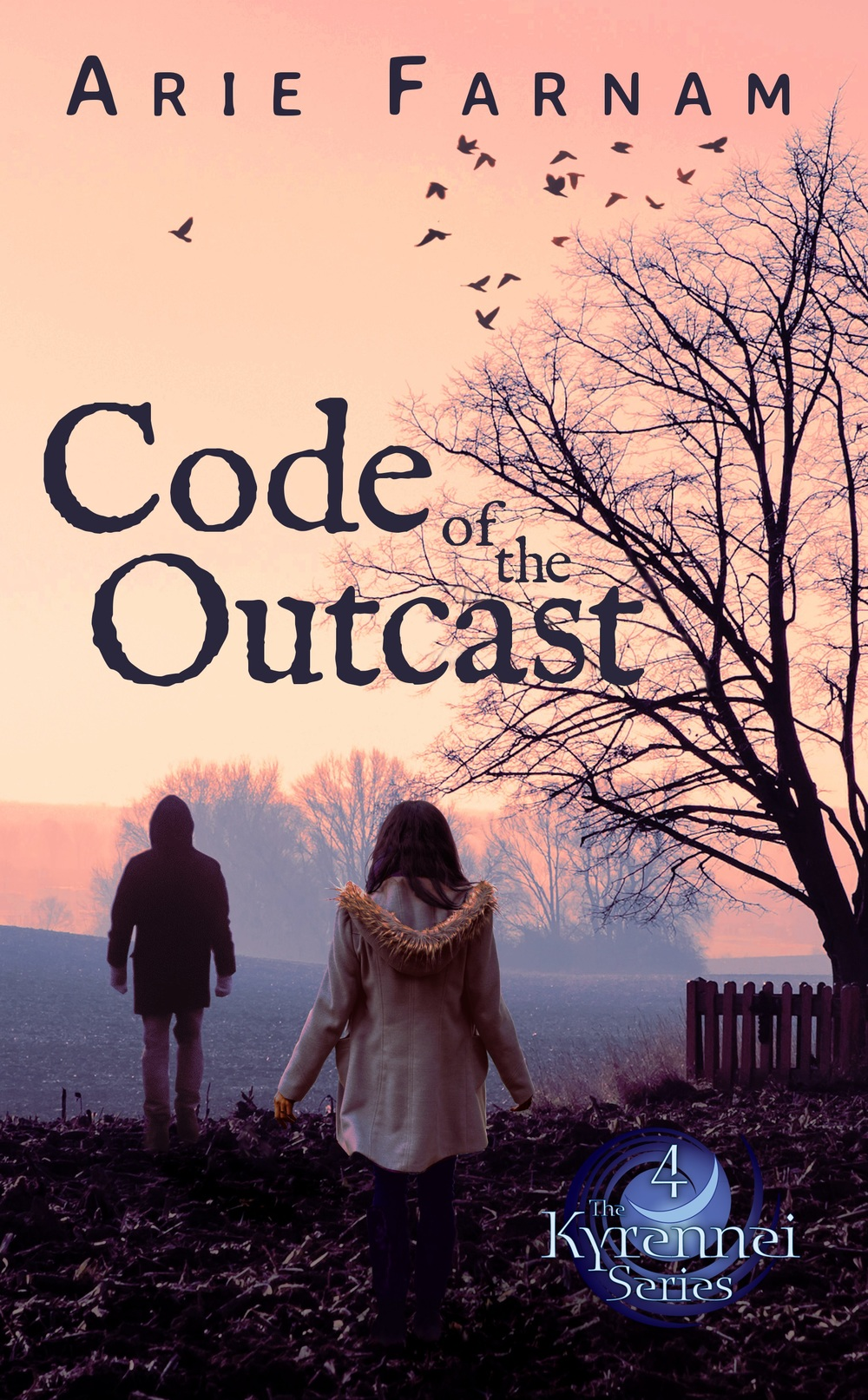 A detail from the cover of code of the outcast