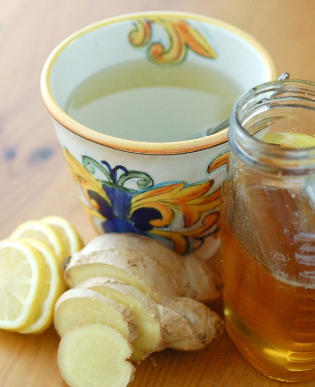 Fresh ginger and lemon tea - Creative Commons image by Jacqueline of Flickr.com