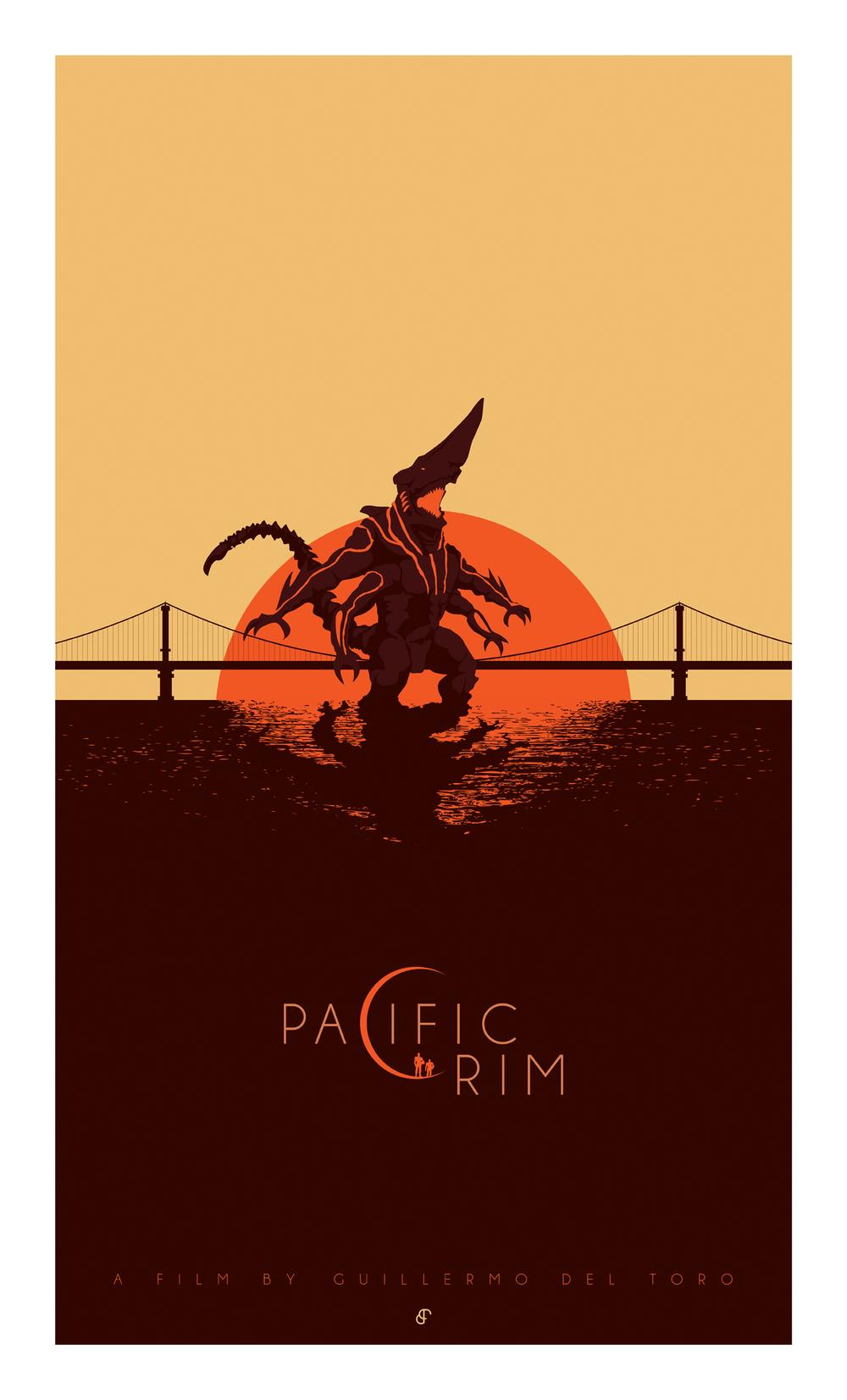 Pacific Rim / Kaiju / Poster Posse #3 — Barbarian Factory - The art of Patrick Connan