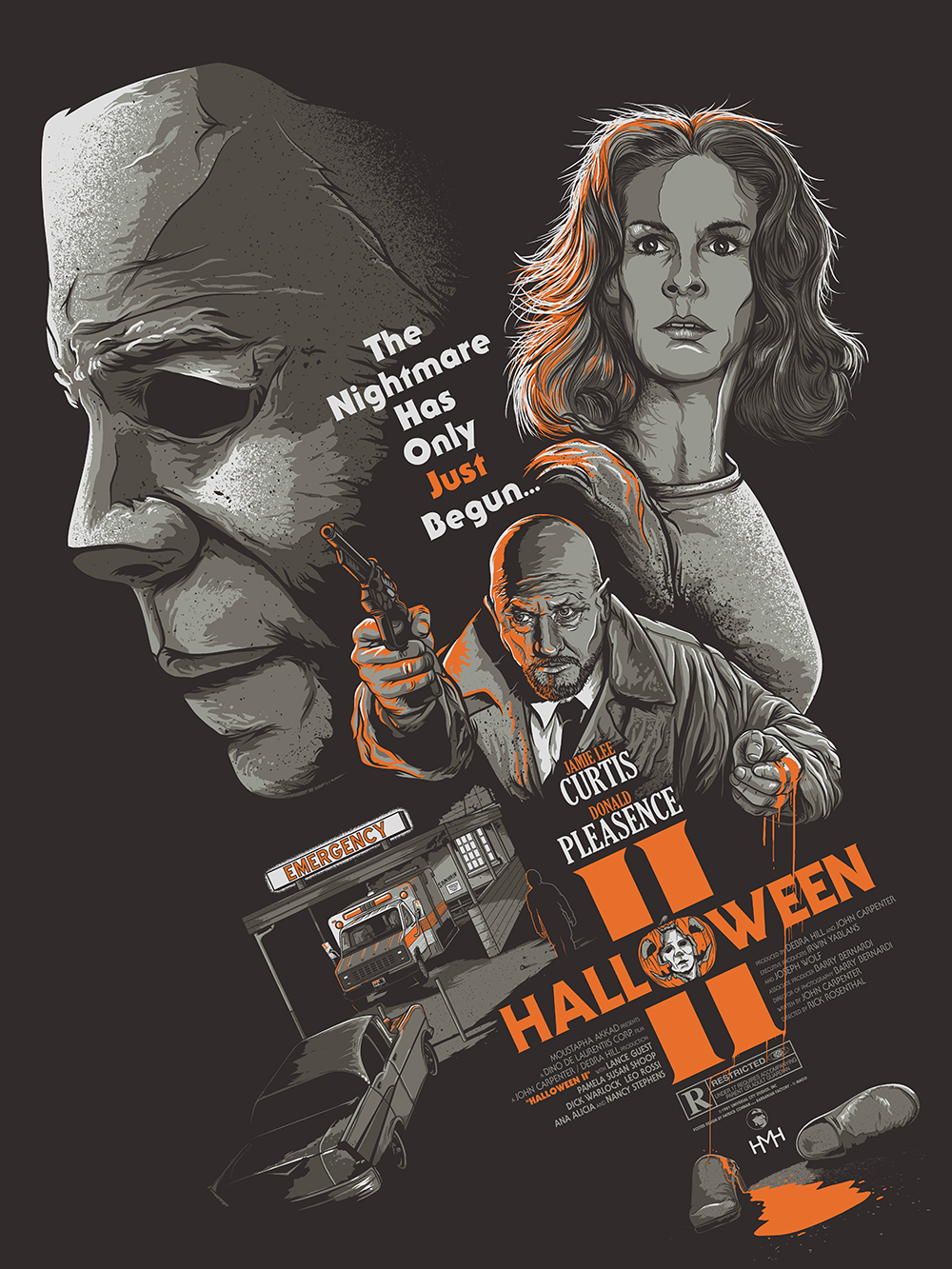 Halloween II — Barbarian Factory - The art of Patrick Connan